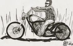 Sketchy #789: Valentin Mellström by Ally Pena