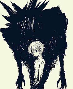 Cosplay Anime Meliodas is a very scary person. Seven Deadly Sins Anime, 7 Deadly Sins, Anime Cosplay, 6 Chakra, Manga Anime, Anime Art, Meliodas And Elizabeth, 7 Sins, Seven Deady Sins