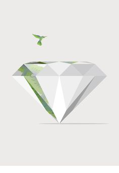 Graphic diamons inspiration