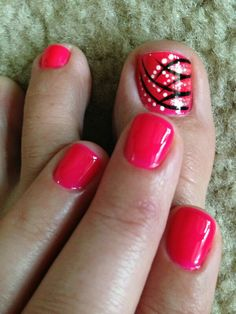 Toe nail pedi & hand nail art designs