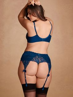 e9adf4198945a Camille Lace Garter Belt - Exclusives
