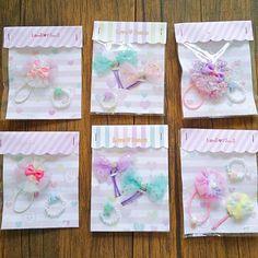 Little Girl Jewelry, Girls Jewelry, Craft Show Displays, Small Stuff, Little Girls, Wraps, Gift Wrapping, Pasta, Handmade