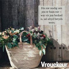 Burlap, Reusable Tote Bags, Afrikaans, Tart, Inspiration, Quotes, Biblical Inspiration, Qoutes, Hessian Fabric