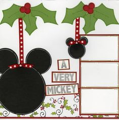 Disney Christmas page 1