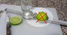 Você (provavelmente) espremeu Limão da forma errada a vida toda