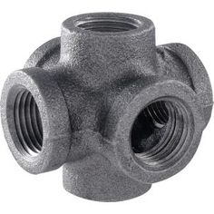 5 Pack Medium Flange Malleable Iron Pipe Rail Fitting 2 Inch Pipe Kee