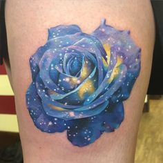 """""""Made a space/Galaxy rose today, thanks Bex #space #galaxy #rose #killerink…"""
