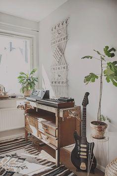 Joncha's working space © Anna Malmberg