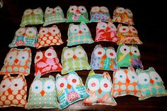 Owl Themed Birthday Party | backpack birthday present...from skip hop