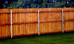 Wood Fence Post Options | Metal Fence Posts