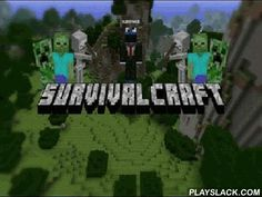 Survivalcraft  Android Game - playslack.com , an outstanding game, in which you will have to make your own world by yourself! investigate different venues, create devices and parts, Pre-Raphaelite, make your own worrying  and constitute many other things from the blocks of different composition.