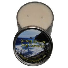 Going Green Soy Candles - Sage Medley Soy Candle - in an 16 Ounce Tin by Going Green Soy Candles. $30.62. Burn time: 130-160 hours.. Made with Earth-friendly soy wax. Single 16 OZ candle.. This is a wonderful combination of tangerine, mandarin, ruby red grapefruit, and lemon rinds, with notes of fresh sage leaves. Each candle is made with 100 natural soy wax, cotton lead-free wicks with a natural wax coating and high quality fragrance oils, assuring you receive a cleane...