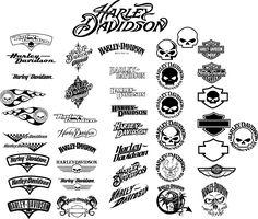 Harley logos all in one place #harleydavidson2018