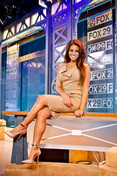 Kacie McDonnell - Anchor & Reporter at FOX 29 Photo by: Revati Doshi https://www.facebook.com/pages/Revtar-Photography/131546700247908