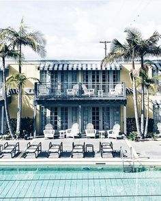 """""""If you're staying at the Lafayette in San Diego, make sure to book one of the bungalow-style rooms out back. Each has a balcony overlooking the lap pool and courtyard. And while you're there, check out the property's famed Red Fox, a stately British steakhouse and piano bar with the best classic cocktails."""""""