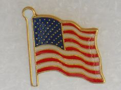 Vintage Flag USA Pin for sale on Etsy  https://www.etsy.com/listing/101367242/american-flag-pin-vintage-flag-usa-pin