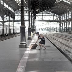 Movement, St Lazare Train Station - Paris | Flickr : partage de photos !