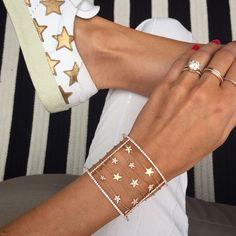 Star Cuff – Stephanie Gottlieb Fine Jewelry