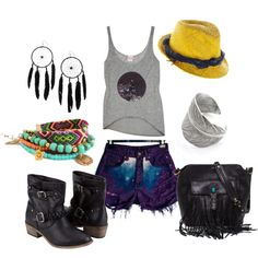 Southwest Rock, created by cecilia-ann on Polyvore