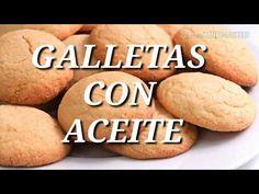 GALLETAS TIERNAS SIN MANTECA🍪 ( con aceite) - YouTube