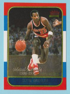 c88ecb3a3d6 1996-97 fleer 1986 metal decade clyde drexler portland trailblazers #m1  (kcr) from $2.0
