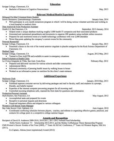 Sample Data Analyst Resume