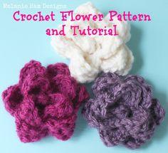 crochet flower Rose- pattern & tutorial