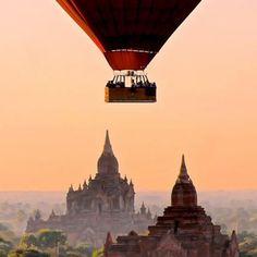 Bagan, Myanmar via @danflyingsolo