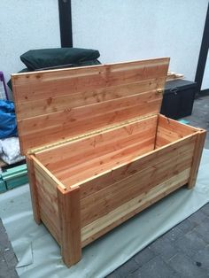 Bauplan Holzkiste Selber Bauen Basteln Pinterest Wood Crafts