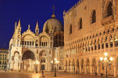 History: St. Mark's Cathedral and Doges Palace