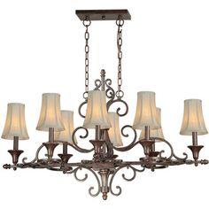 oval chandelier - Google Search