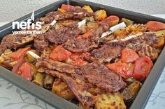 Baked Turkish Delight Lamb Cutlets-Fırında Lokum Kuzu Pirzola, E…-Fırında Loku… Turkish Delight Lamb Chops, delight foods, E …- Baked Turkish Delight Lamb Chops, delight - Turkish Delight, Turkish Recipes, Italian Recipes, Homemade Noodles For Soup, Meat Recipes, Healthy Recipes, Delicious Recipes, Turkish Kitchen, Fish And Meat