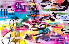 "Saatchi Art Artist Eduardo Bessa Rodrigues; Painting, ""Verythink is a path to Everything."" #art"