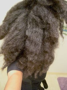 Why It Takes Me Just 2 Hours to Wash, Detangle and Style my Back-Length 4C Hair | Black Girl with Long Hair