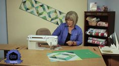 Quilting Quickly: Island Chain - Batik Table Runner Quilt Pattern using ...