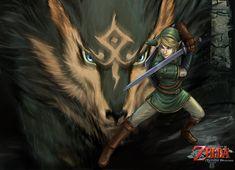 link fan art | Link-Wolf wp by *YamaO on deviantART