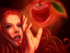 Eve and the forbidden fruit