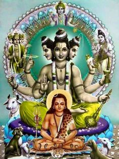Top 60+ Best Lord Dattatreya Images | Datta Guru Wallpaper Images (HD)