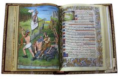 The Hours of Charles of Angoulême was commissioned c. 1485 by the Count of Angoulême, and is undeniably Robinet Testard's most personal work. Around the same time (c. 1500), in England, the illuminator Jean Poyer finished his masterpiece, The Hours of Henry VIII.