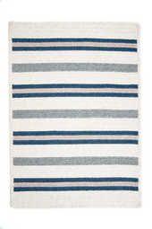 Colonial Mills Allure Polo Blue Braided Rug - - Braided Rugs - Area Rugs by Style - Area Rugs White Area Rug, Blue Area Rugs, Braided Area Rugs, Polo Blue, Accent Rugs, Blue Ivory, Outdoor Area Rugs, Rugs Online, Blue Stripes