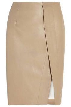 Update your fall wardrobe with a chic leather skirt, shop our 12 favorites of the season here: