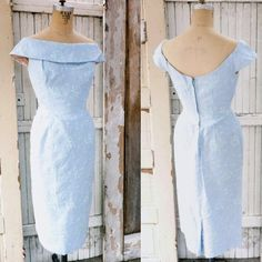 Vintage 1950s Bombshell Baby Blue Wiggle Dress 50s Vintage Fashion Mad Men Dress Small on Etsy, $192.03 AUD