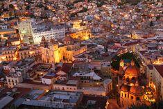 Guanajuato. Vista desde el monumento al Pípila.