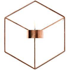 NOVICA Copper and Mahogany Wood Tealight Holder from India 34 CAD