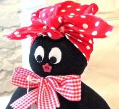 Handmade Cute Mammy Golly  Doorstop. I adore these doorstops...i want them all.