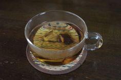 若返りのゴボウ茶を作る(2) 干し椎茸を入れてみました。