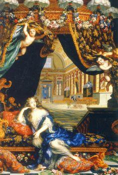 Madame de Montespan at her palace