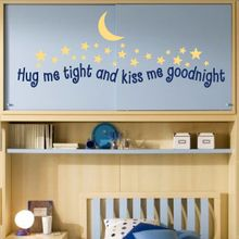 Get Hug Me Tight Wall Decal and other Kids wall decals from Decalmywall.com – the exclusive online store for high quality vinyl wall stickers.