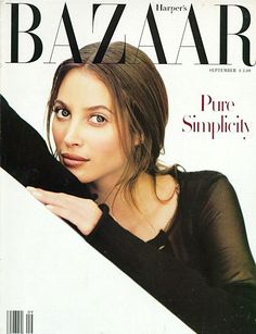 Christy Turlington in Harpers Bazaar, September 1993