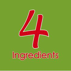 Come join our growing Foodie Family, sharing quick and easy recipes, kitchen wisdom and ideas bound to save you time and money in the kitchen. www.4ingredients.com.au